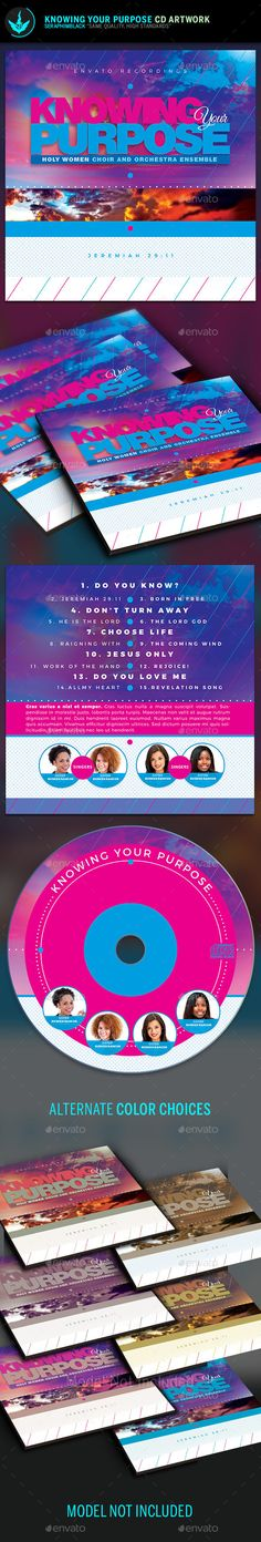 Knowing Your Purpose CD Artwork Template
