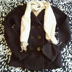 Cream Colored Scarf With Metallic Accents This cream/off-white colored scarf features metallic accents and a subtle animal print only visible from the different textures of the scarf. This scarf is pre-loved, so may have a minor imperfections that I have missed, however, it is in great shape and the pattern is both interesting and subtle, which makes it very unique! Accessories Scarves & Wraps