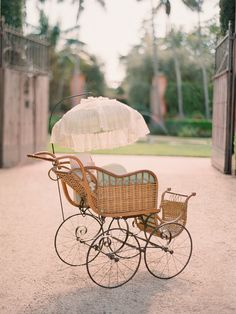 Antique Baby Carriage / Photo by Elizabeth Messina