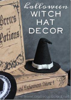 Felt Witch Hat by the Crafty Cupboard