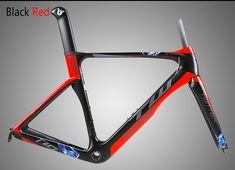 2017 AERO light carbon road bike frame with Reflective-LOGO Cut-Matte
