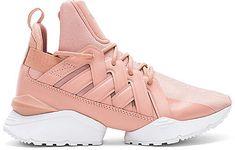 Puma Muse Echo Satin Sneaker #fashion #trend #2018 #pink #puma #shoes
