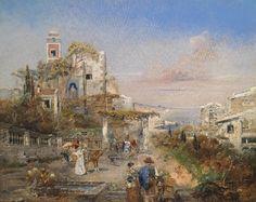 Southern Capriccio  \\ Robert Alott . Austrian ( 1850 - 1910 )