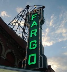 Fargo Theater in downtown Fargo, ND