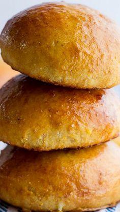 Salted Honey Butter Cornbread Brioche Burger Buns