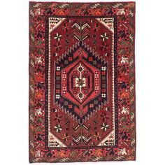 Ecarpetgallery Hand Knotted Persian Darjazin Orange Wool Rug 4