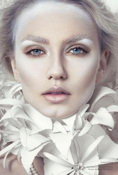 Resultado de imagen de white angel makeup