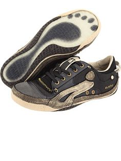 I just bought these gold and black metallic sneakers from Cushe at 6pm.