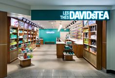 So recently I discovered this really cool store called David's Tea that sells loose leaf tea. The store is beautiful! Davids Tea, Cool Store, Shops, Wellness, Best Tea, Web Inspiration, My Cup Of Tea, Candy Store, Retail Space