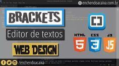 Bom dia! Tudo bem? E o post de quinta foi sobre um editor de texto que estou aprendendo a gostar! _ <3 Brackets!  Se ainda não leu dá uma olhadinha no Blog Enchendo a Caixa!  #HTML #CSS #JavaScript #Programação #Web #DesenvolvimentoWeb #EnchendoAcaixa #NerdicesDaVan #DicasDaVan  #SouIniciante