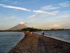 volcanic island of Ometepe in Nicaragua