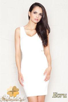 Dopasowana sukienka na ramiączkach długości mini firmy FIGL.  #cudmoda #moda #ubrania #odzież #clothes #sukienki