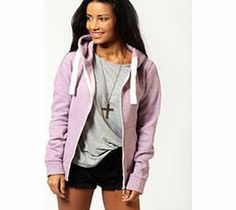 boohoo Ciara Marl Brushback Zip Through Hoody - lilac A staple sweat, look to this hoodie as your ultimate loungewear item for kicking back in style. We love to layer it over anything and everything from leggings to a basic tee and denim shorts . Work an http://www.comparestoreprices.co.uk/womens-clothes/boohoo-ciara-marl-brushback-zip-through-hoody--lilac.asp