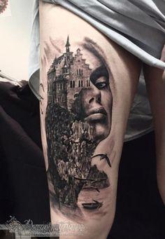Tatuaż surrealistyczny 18
