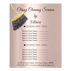 Tiffany Cleaning Services Cleaning Service Flyer, Office Cleaning Services, Cleaning Business Cards, Cleaning Maid, Cleaning Gloves, Online Gift Shop, Online Gifts, Sample Flyers, Custom Flyers