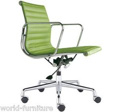 charles eames green low back leather office chair ea117 bedroombreathtaking eames office chair chairs cad