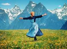 I believe that the hills ARE alive with music. Especially in Austria.     What Julie Andrews says...goes.
