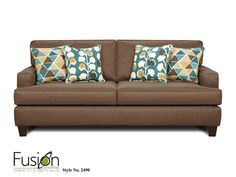 Mix & Match your colors and patterns to bring a pop of life to your neutral sofa!