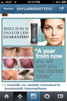 A NEW YEAR, A NEW YOU! YOU DESERVE IT! GET YOURS NOW! http://www.getyoursnow.nerium.com