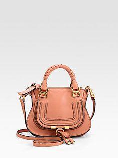 Chlo�� Mini Leather Paraty Crossbody Bag. Soft Italian leather+ ...