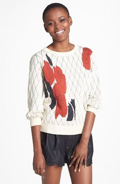 Leith Floral Sweater Wilde Floral