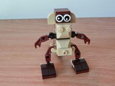 Totobricks: LEGO Construire un singe ( How to build a monkey) ... http://www.totobricks.com/2014/12/lego-construire-un-singe-how-to-build.html