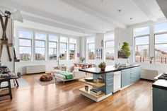 Williamsburg loft in a converted musical instrument factory seeks $3M - Curbed NYclockmenumore-arrow : The three-bedroom apartment last sold in 2005 for $1.8 million