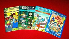 Lot 4 Nickelodeon Chapter Books Rugrats Files Rocket Power Grades 2nd 3rd 4th