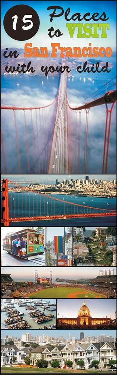 With so many attractions, it's sometime hard to determine the best things to do in San Francisco with kids. California Trip, Bay Area, San Francisco, Fair Grounds, Children, Places, Toddlers, St Francis, Boys
