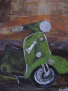 "Saatchi Art Artist Leslie Fehler; Painting, ""in Corfu"" #art"