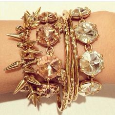 Gorgeous bracelets by Stella & Dot.