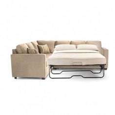 conceptually we need a sectional couch that is also a functional pull out bed. This option also comes in light blue.