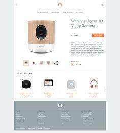 Digital Square Product page by Slava Kim