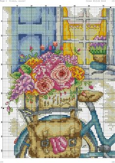 VK is the largest European social network with more than 100 million active users. Cross Stitch Alphabet Patterns, Needlepoint Patterns, Cross Stitch Charts, Cross Stitch Designs, Cross Stitch Embroidery, Hand Embroidery, Cross Stitch Landscape, Graph Design, Cross Stitch Flowers