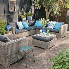 Lekker genieten van het buitenleven met de tuinmeubelen van Intratuin #buitenleven #intratuin #tuinmeubelen #tuinset #tuin