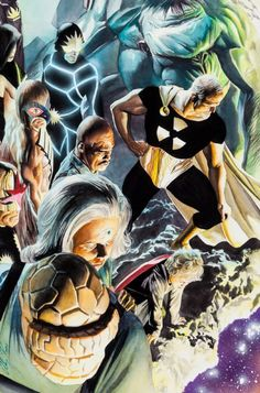Earth X Trilogy - Paradise X #11 by Alex Ross *