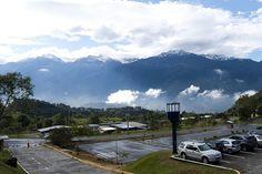 Nevada en la Sierra Merideña, vista desde la Facultad de Ingeniería de la Universidad de Los Andes, Mérida - Venezuela