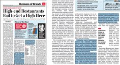 Gaurav Marya, Chairman at Franchise India speaks to The Economic Times on High-end #Restaurants Fail to Get a High Here. #GauravMarya #Entrepreneur #FranchiseIndia #BusinessAdvisor #Franchise