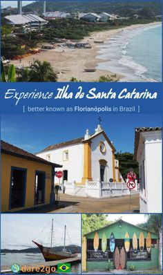 Pin this: we invite you to explore with us 'Ilha de Santa Catarina' in Brazil, better known as Florianópolis. Discover sheltered sandy beaches in the north, surfing beaches on the east coast, sand boarding on the 'Dunas da Joaca', boat trips on 'Lagoa da Conceição'. Wander through the colourful historic parts of the city centre or the old Portuguese villages of Ribeirão da Ilha and Santo Antônio de Lisboa. Eat fresh local oysters by the beach, fresh fish by the lake shore, or international…