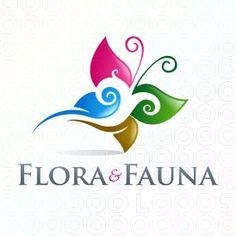 Sold Logo: Flora and Fauna Make Your Own Logo, Premium Logo, Logo Maker, Flora And Fauna, Social Media Design, Logo Inspiration, Logo Design, Garden Seeds, Logos