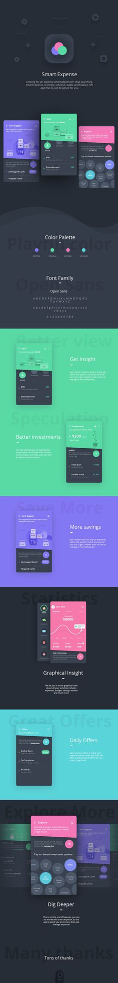 Interaction Design and UI/UX: Smart Expense App: