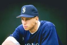 This is when A Rod was a SS for the Mariners... <3 When he wasn't all douchy, before he met his future ex wife... before Madonna and all the blondes. He was my first celebrity crush <3 Anel