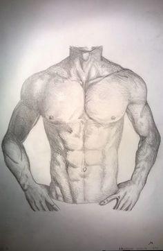 Studio del corpo umano, matita - Human body study, pencil