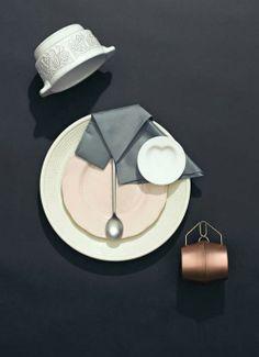 dinnere4 Cómo presentar la mesa con estilo