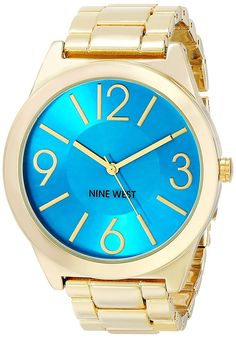 NINE WEST watch Quartz NW / 1584TQGB Ladies * More info could be found at the image url.