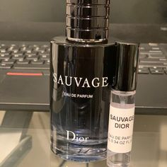 Dior Sauvage 10 Ml .34 Oz Edp Travel Spray + Free Creed Aventus 1ml Sample for Sale in Woodmere, NY - OfferUp Travel Size Perfume, Dior, Big Bottle, Roll On Bottles, Travel Purse, Parfum Spray, Travel Size Products, Making Out, Free Money