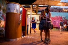 """The SoFo District—""""South of Forsyth"""" and north of Victory Drive—attracts artists, SCAD students, and creative entrepreneurs year-round, but on First Fridays, a special event called Art March takes place."""