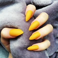 Check these awesome mustard nail art ideas! Now