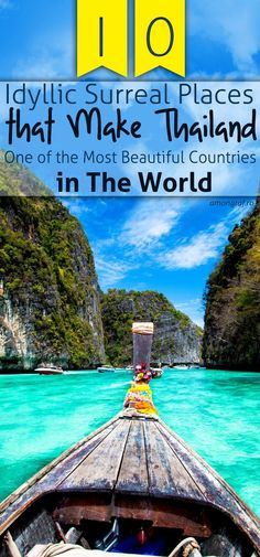 10 Idyllic Surreal Places that Make Thailand One of the Most Beautiful Countries in The World #thailand #amazing #travel