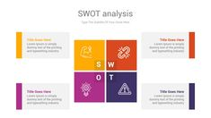 SWOT analysis is an impressive chart template to identify strengths, weaknesses, opportunities, and threats related to business competition or project planning concepts through shape diagrams. 49 Unique slides designed by professionals that you can easily edit and fill out with your personal content, All objects are vectors objects, and they are fully editable, all icons used are smart object and vector Swot Analysis, Slide Design, All Icon, Powerpoint Presentation Templates, Lorem Ipsum, Vectors, Competition, Illustrator, Infographic